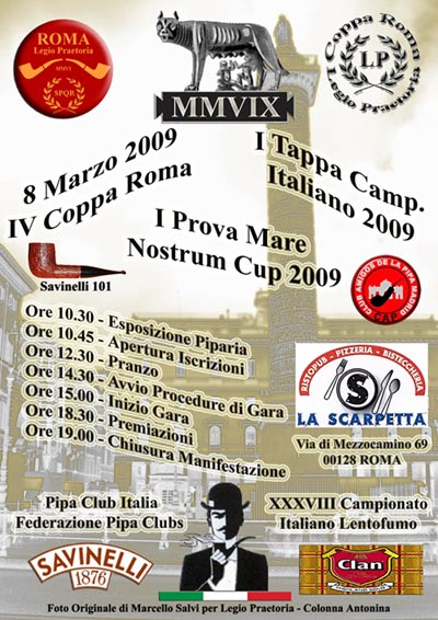 cartel iv coppa roma