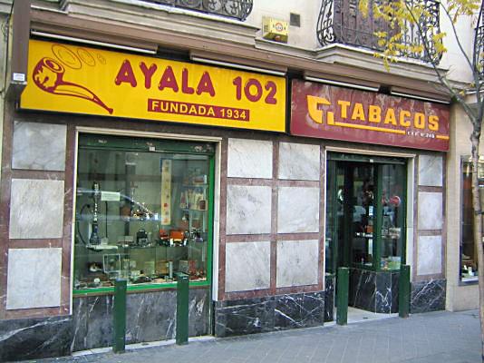 Estanco de Ayala 102 SUSANA GÓMEZ 28006 - MADRID Tf.: 91 575 03 53