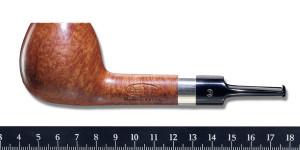 Pipa de la I Fumada del CAP, realizada por Emilio Navarro de Bruken.