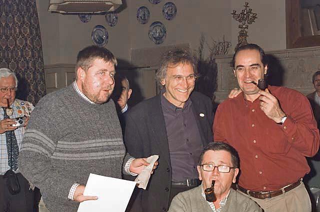 Jaime, Maurizio y Juan